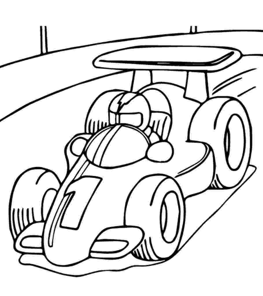 color race cars race car coloring pages for kids at getdrawings free color cars race