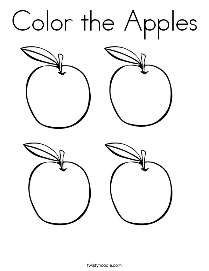 coloring apples apples coloring pages team colors apples coloring