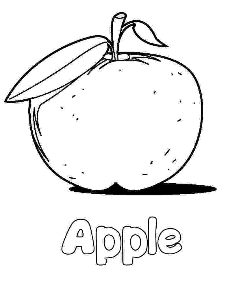 coloring apples free printable apple coloring pages for kids apples coloring