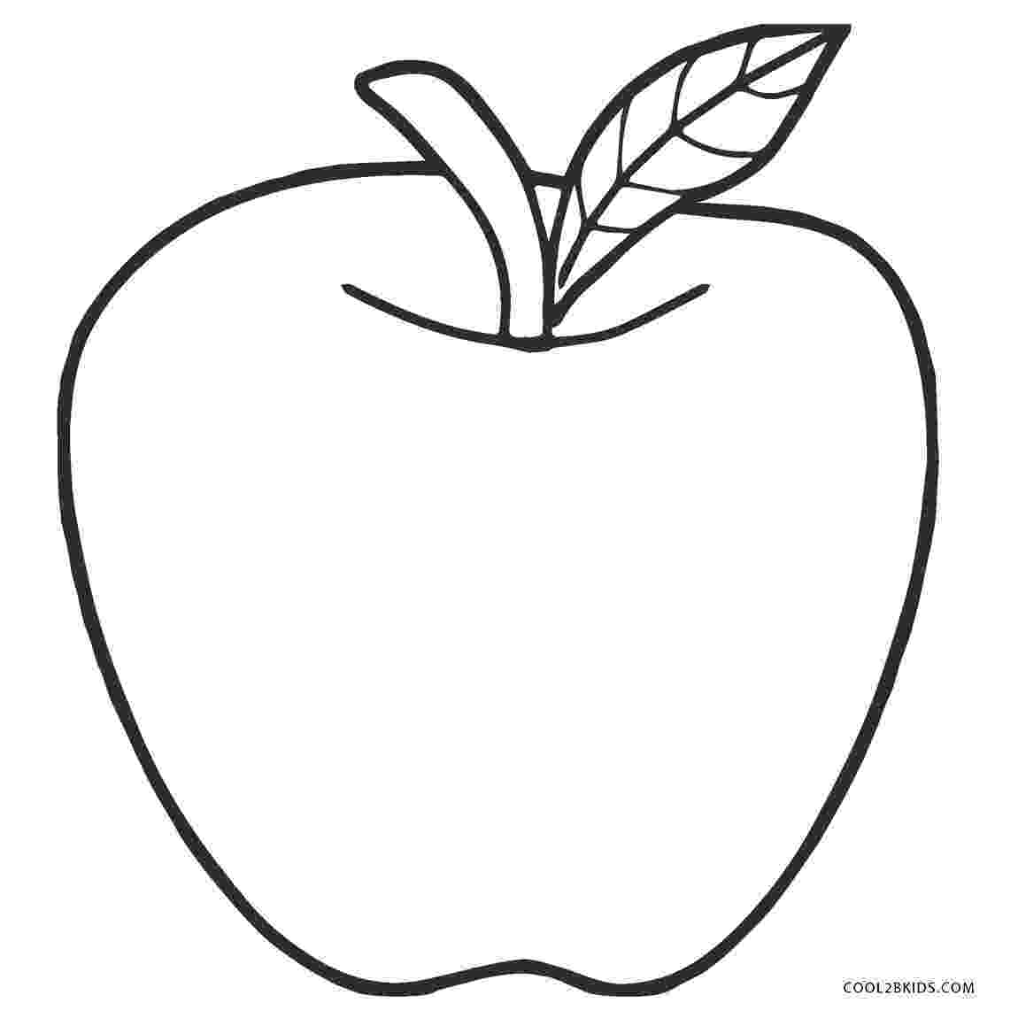 coloring apples free printable apple coloring pages for kids coloring apples