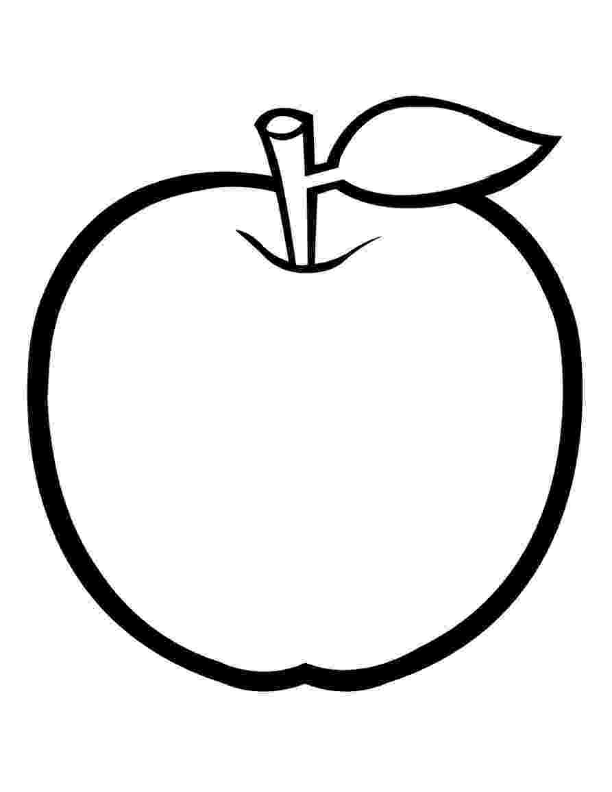 coloring apples free printable apple coloring pages for kids coloring apples 1 2
