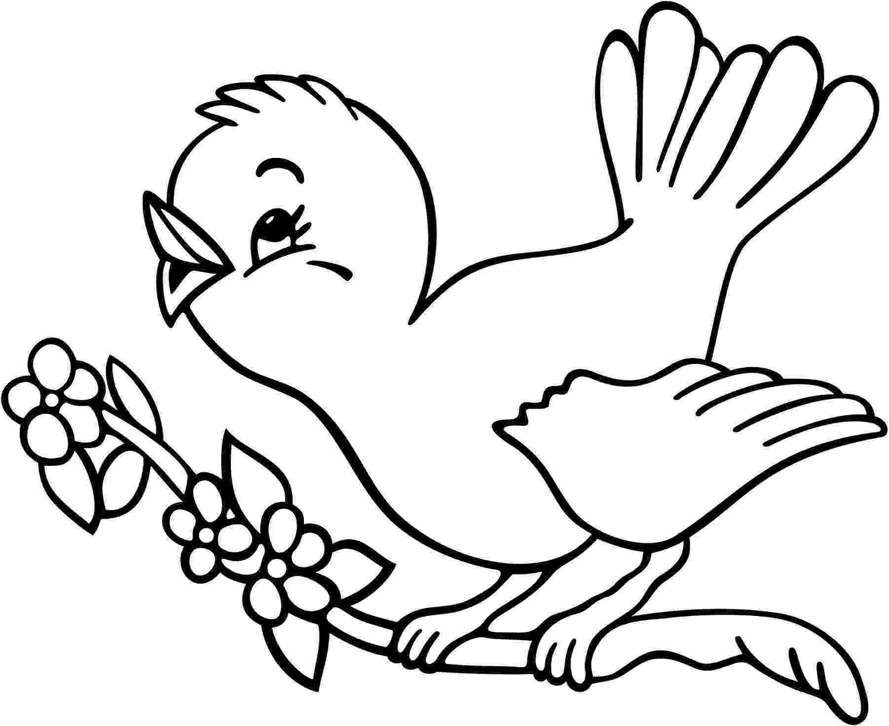 coloring bird birds coloring pages getcoloringpagescom coloring bird