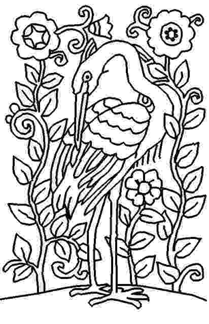 coloring bird printable advanced bird coloring pages for adults free coloring bird