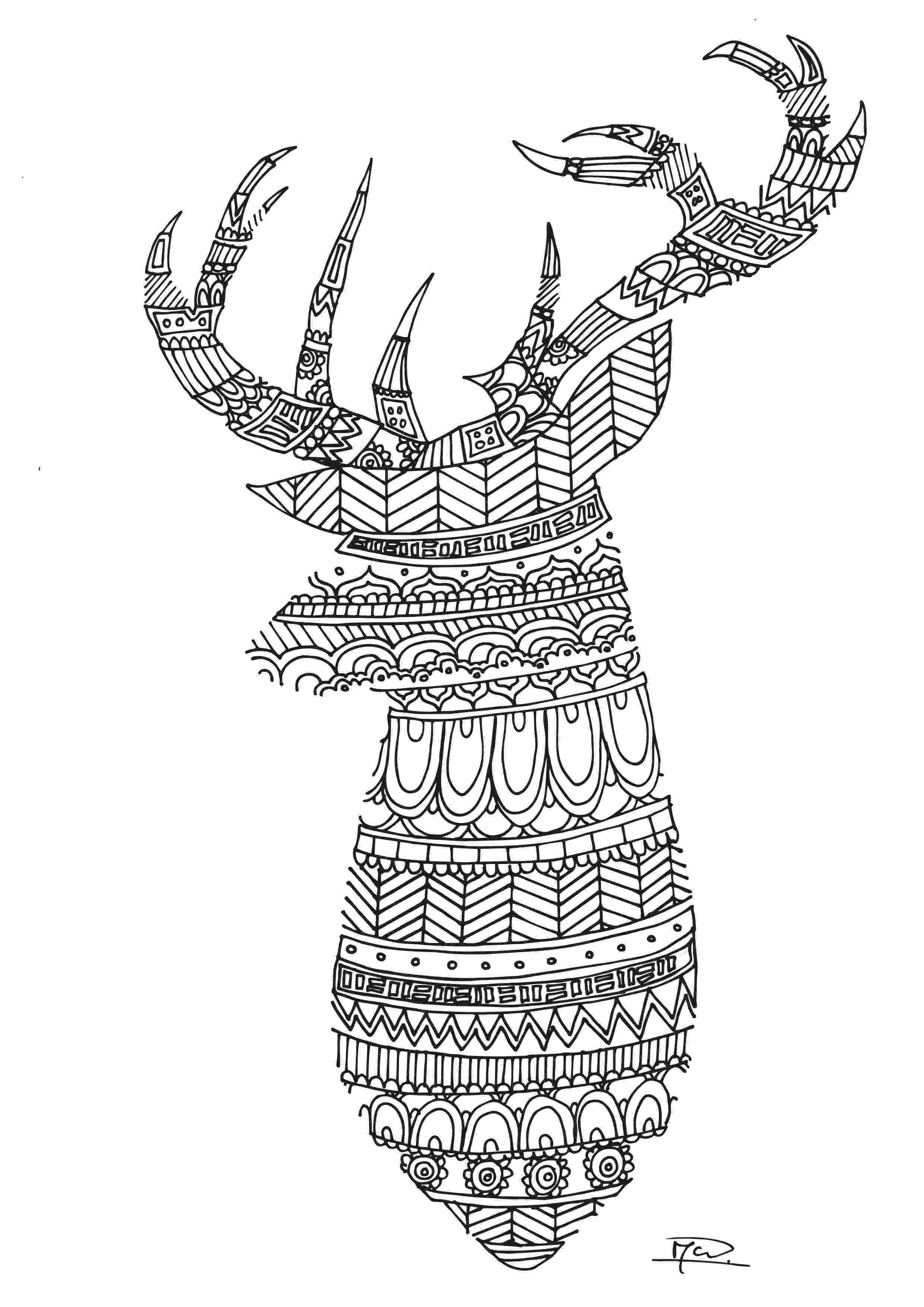 coloring book deer printable deer coloring page free pdf download at http deer book coloring