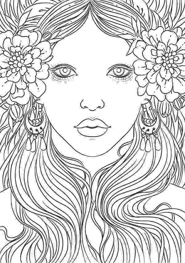 coloring book for adults beautiful day beautiful woman with snail in the colors design for for coloring beautiful day book adults