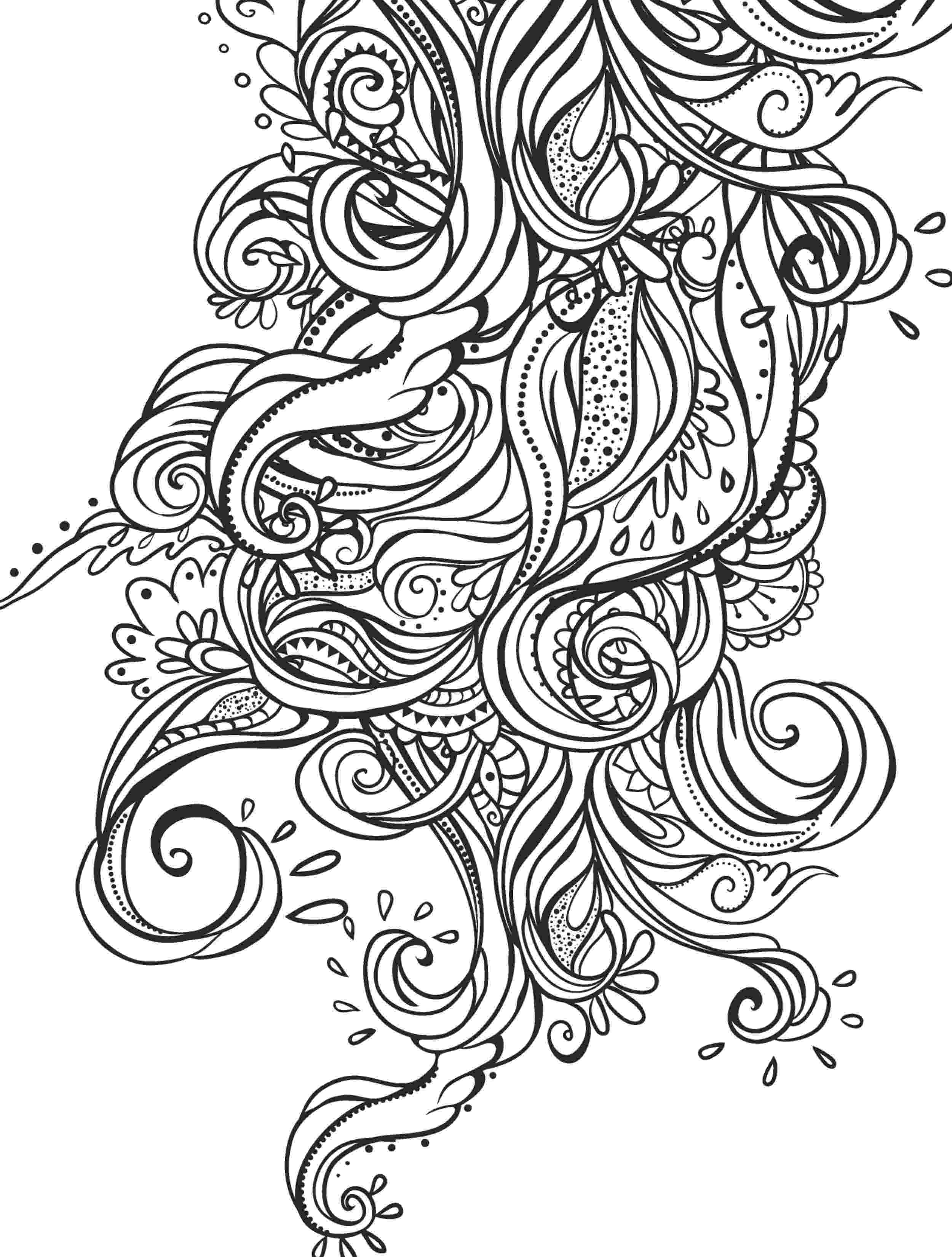coloring book for adults beautiful day pretty girl with flowers coloring page recolor app day beautiful coloring book adults for