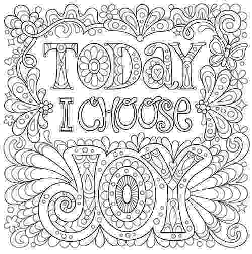 coloring book for adults beautiful day today i choose joy free coloring page coloring free book for adults coloring day beautiful