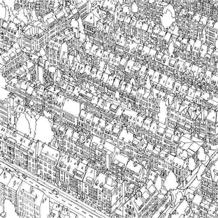coloring book for adults cities this coloring book takes you to fantastic cities both real adults for book cities coloring