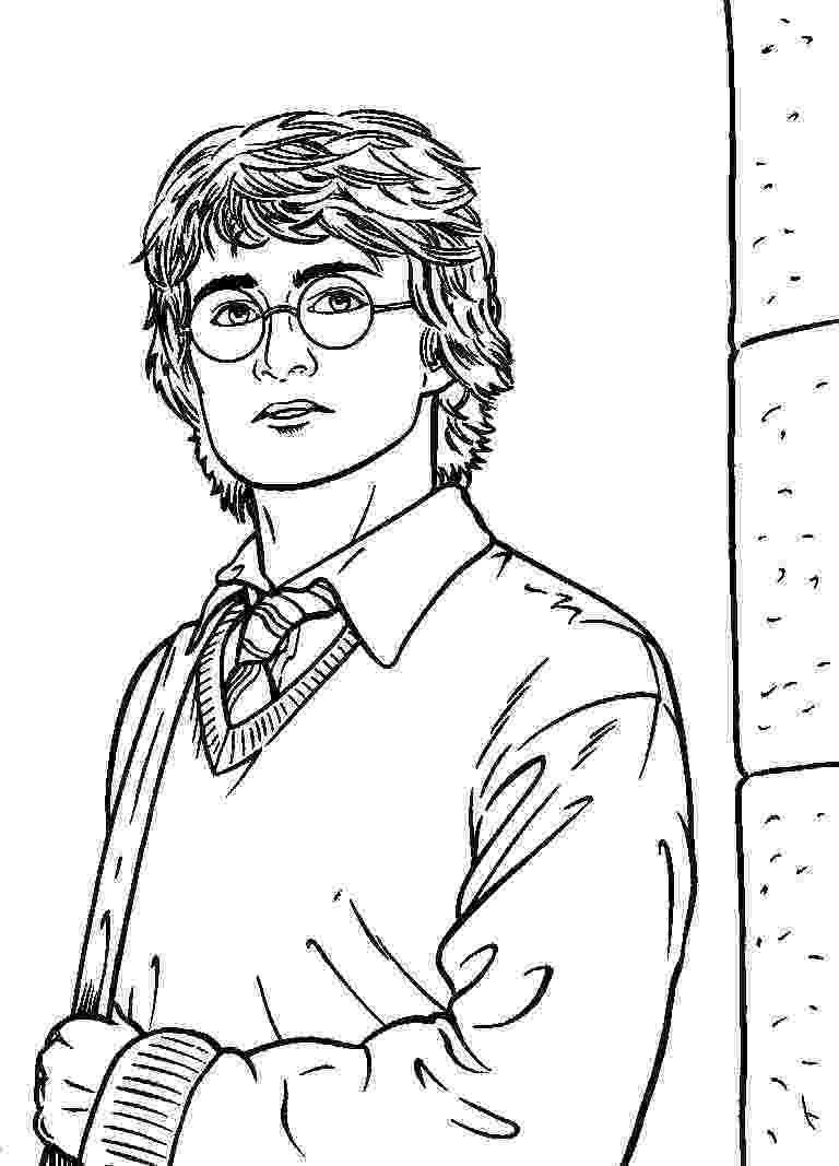 coloring book harry potter free printable harry potter coloring pages for kids potter harry coloring book