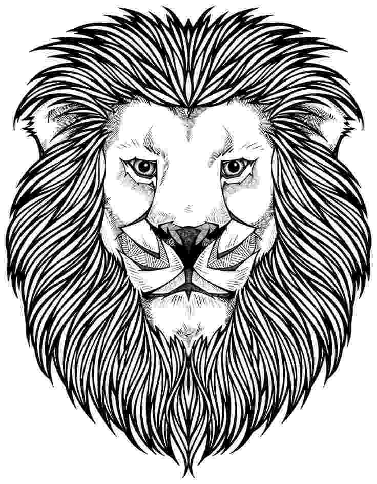 coloring book lion 66 best coloring zoo images on pinterest geometric book lion coloring