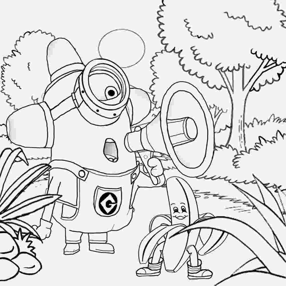 coloring book pages minions free coloring pages printable pictures to color kids and pages minions coloring book