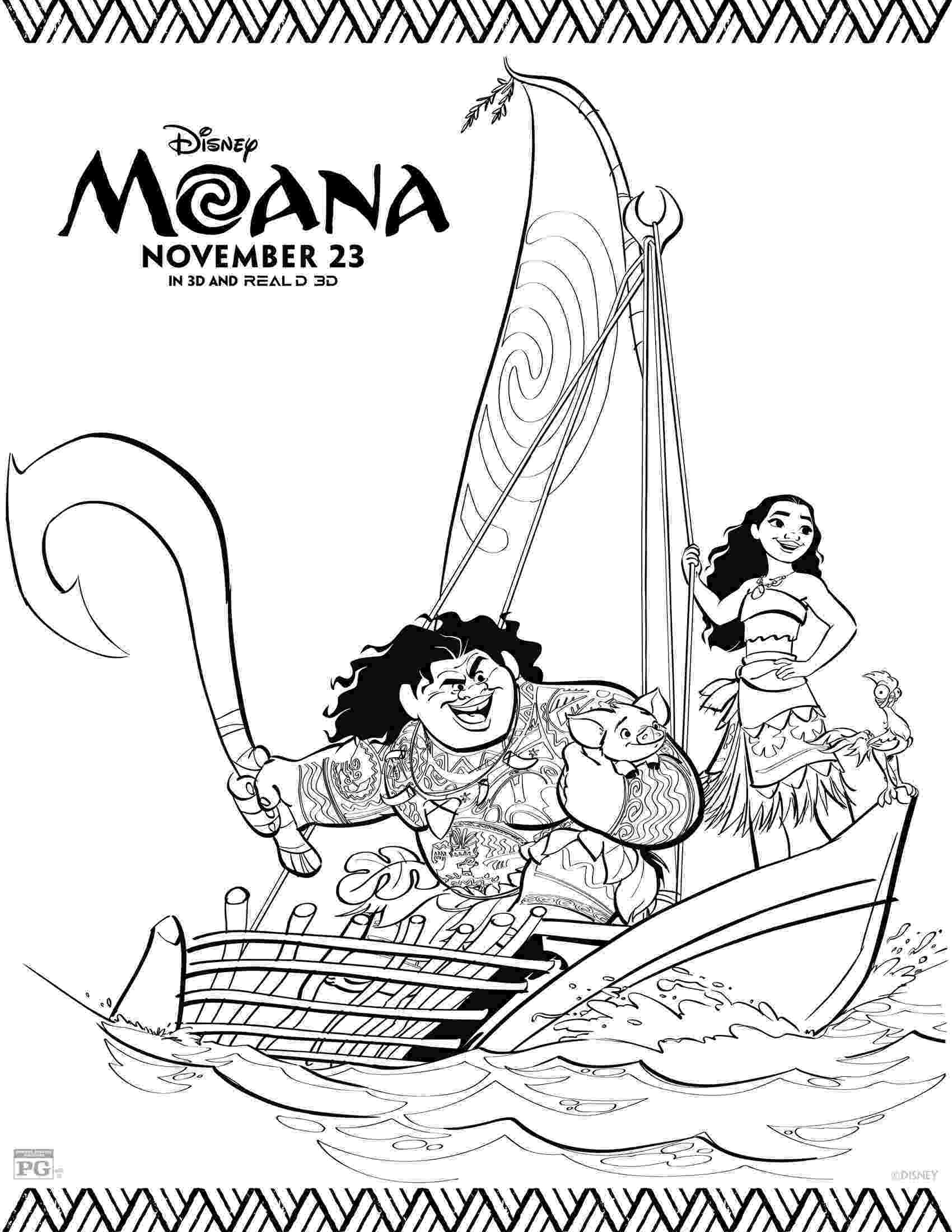 coloring book pages moana disney39s moana coloring pages disneyclipscom pages book moana coloring