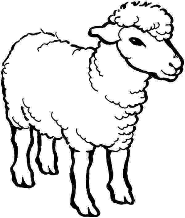 coloring book pages sheep free printable sheep coloring pages for kids book sheep pages coloring