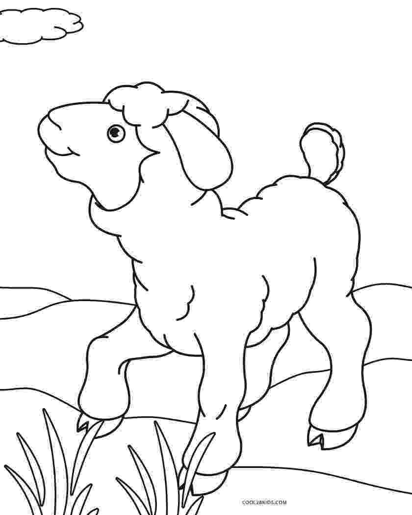 coloring book pages sheep lamb coloring pages getcoloringpagescom sheep book pages coloring