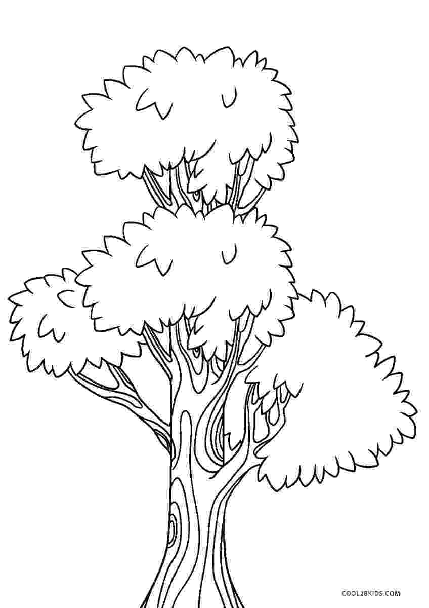 coloring book pages trees free printable tree coloring pages for kids cool2bkids coloring trees pages book