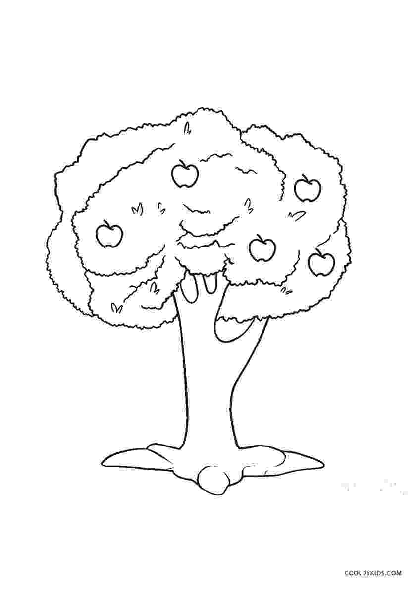 coloring book pages trees free printable tree coloring pages for kids cool2bkids pages coloring trees book