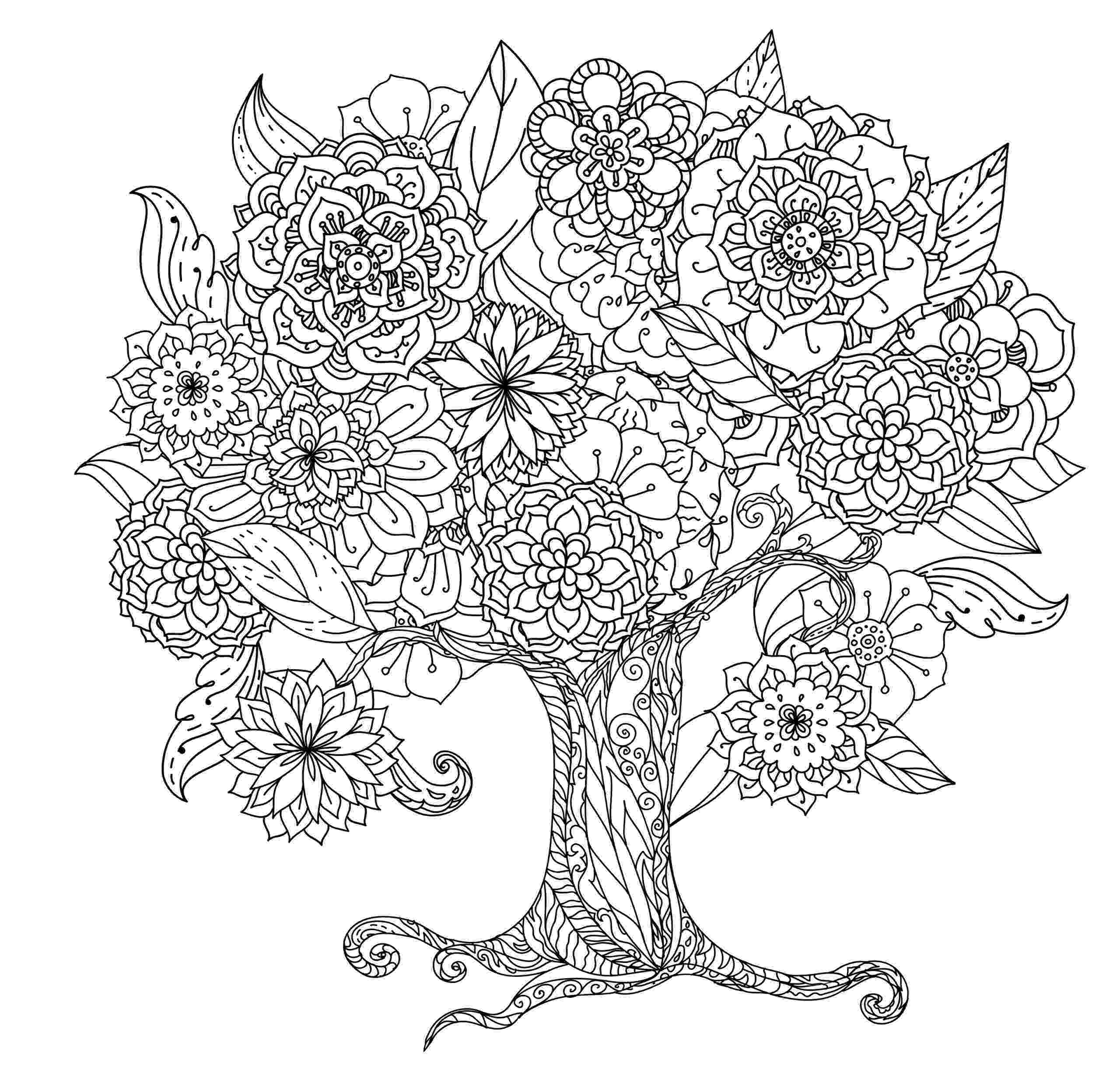 coloring book pages trees free printable tree coloring pages for kids cool2bkids pages coloring trees book 1 1