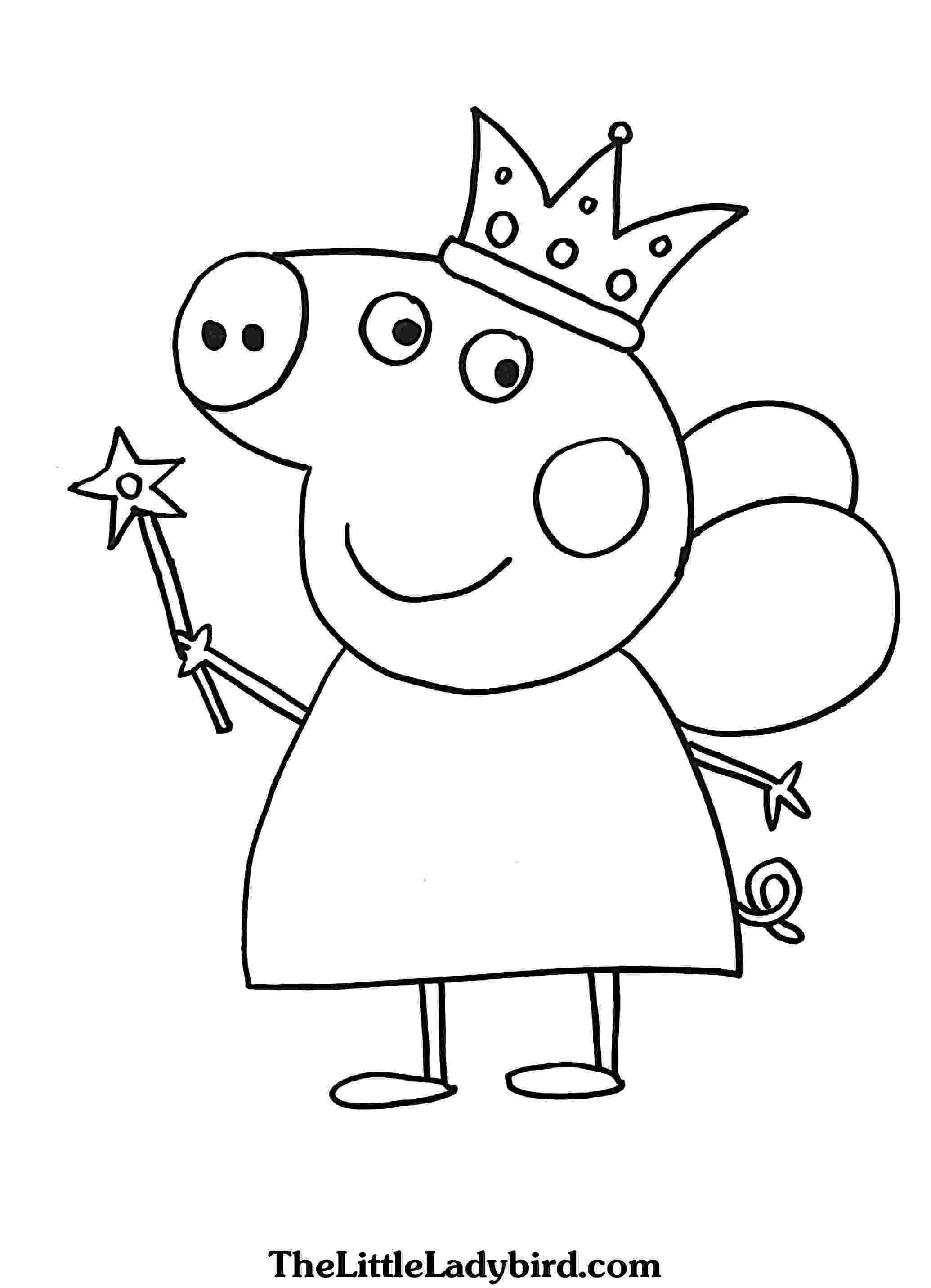 coloring book peppa pig peppa pig coloring pages getcoloringpagescom book peppa pig coloring