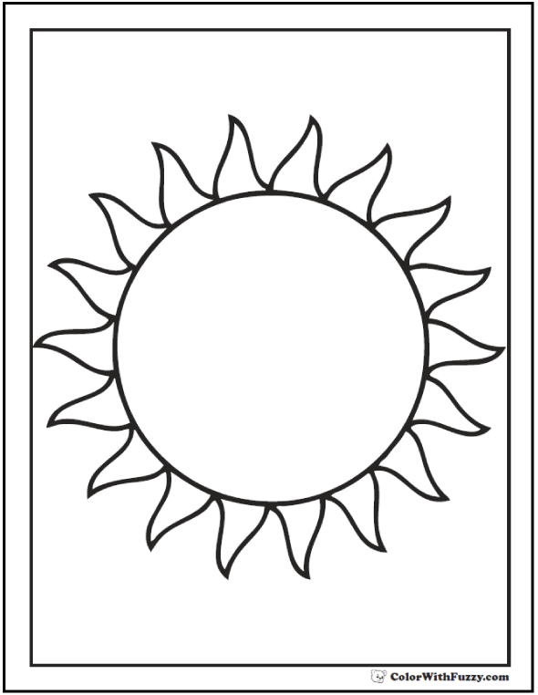 coloring book sun summer coloring pages to print book sun coloring