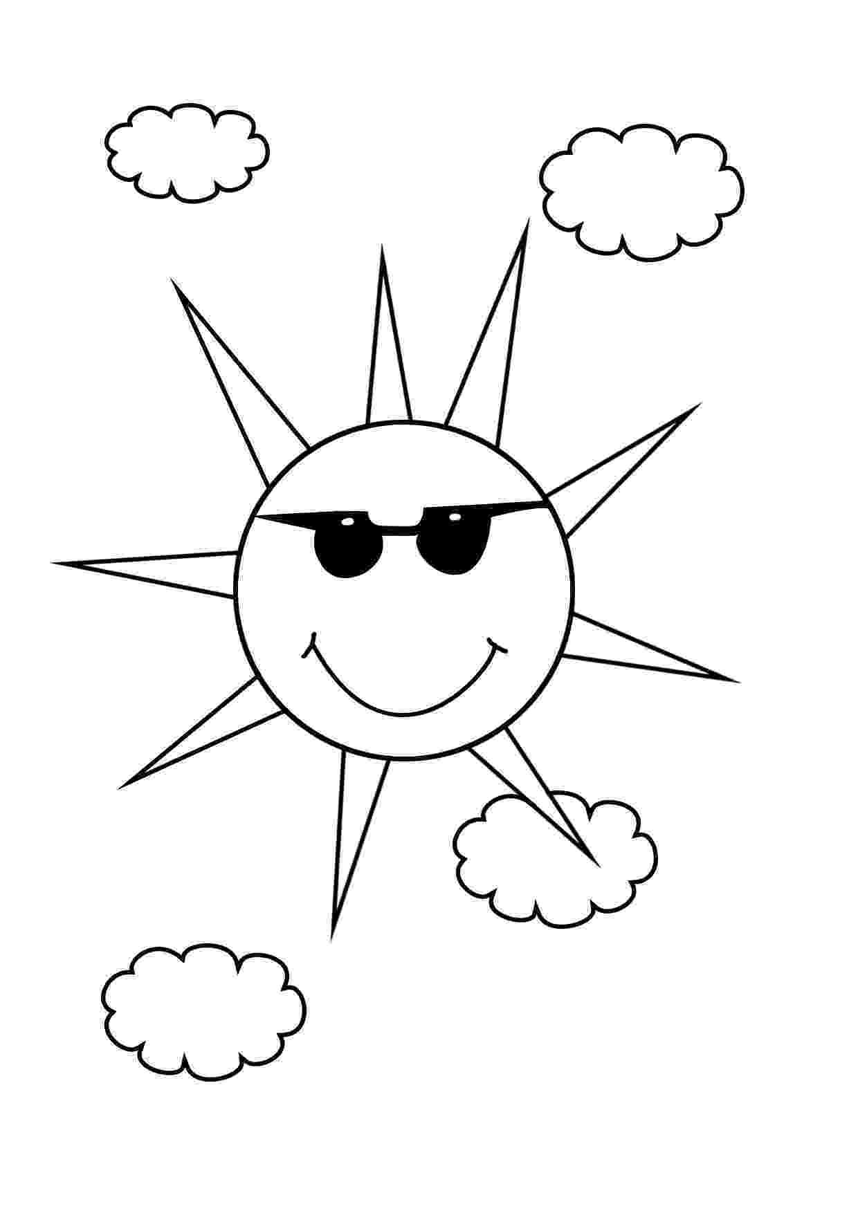 coloring book sun the sun sun coloring book