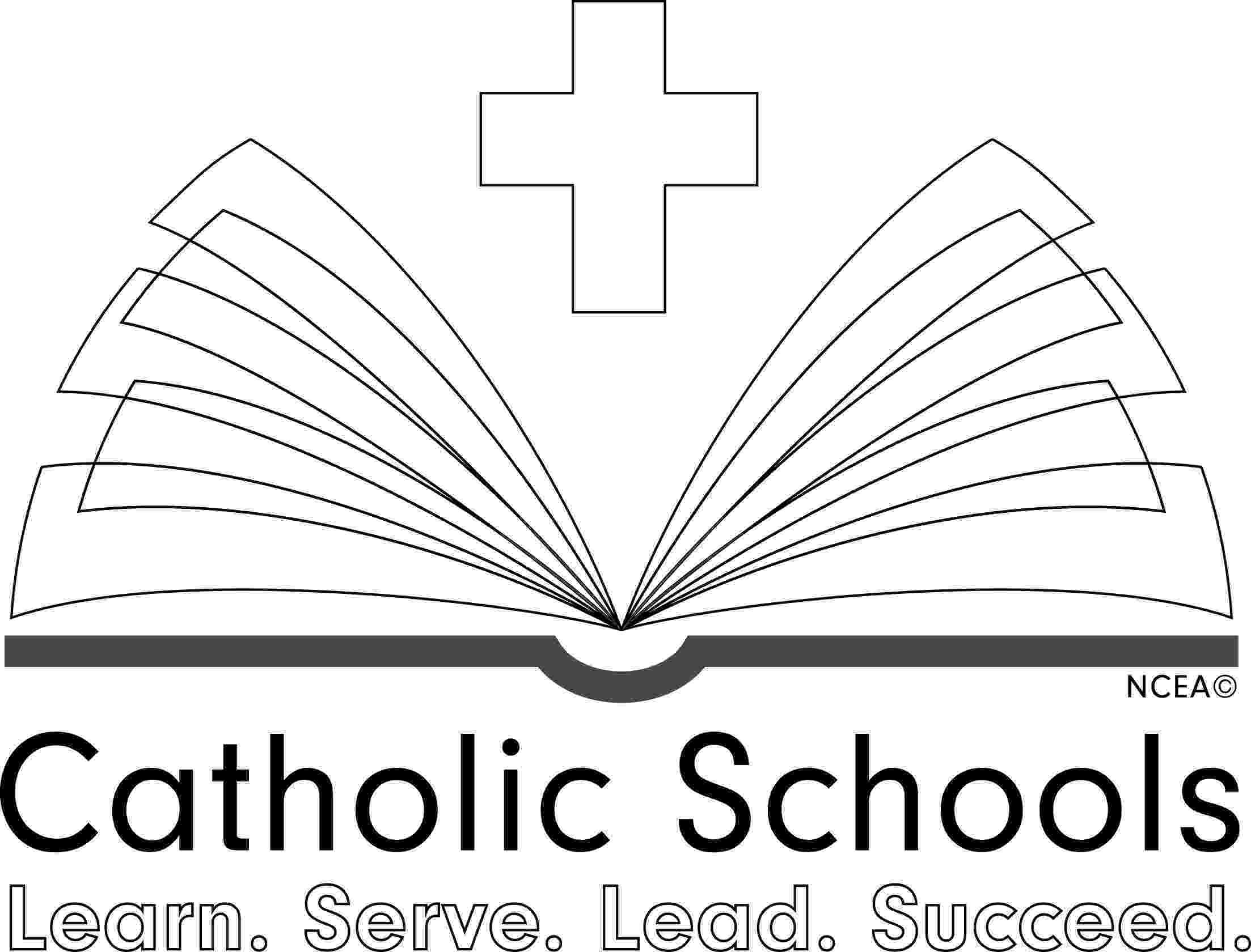 coloring book themes catholic schools week logos and themes book coloring themes