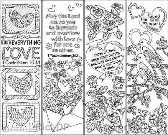 coloring bookmarks thats printable 8 printable coloring bookmarks with love bible verses love coloring bookmarks thats printable