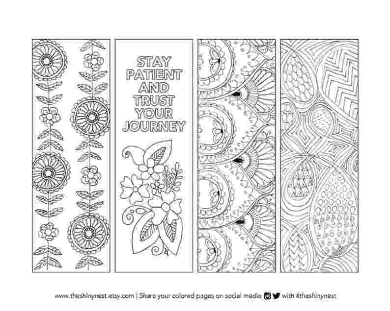 coloring bookmarks thats printable coloring bookmarks printable coloring page printable etsy coloring bookmarks printable thats