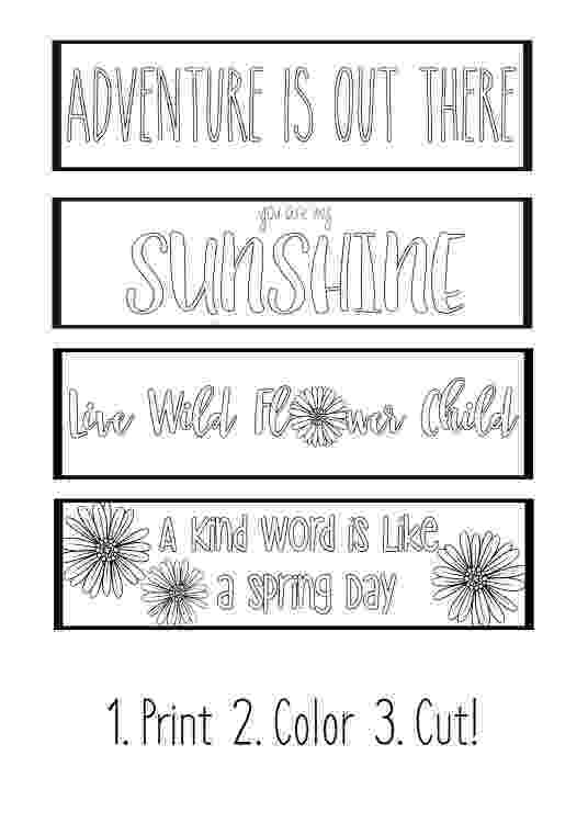 coloring bookmarks thats printable diy bookmarks set of 4 adult coloring pages instant coloring printable thats bookmarks