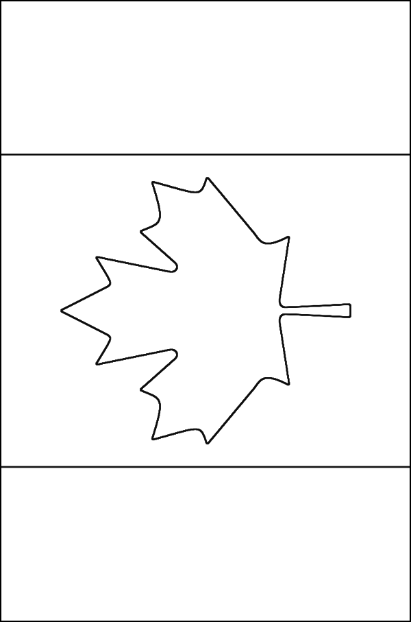 coloring canada flag flags of the world canada kidspot flag canada coloring