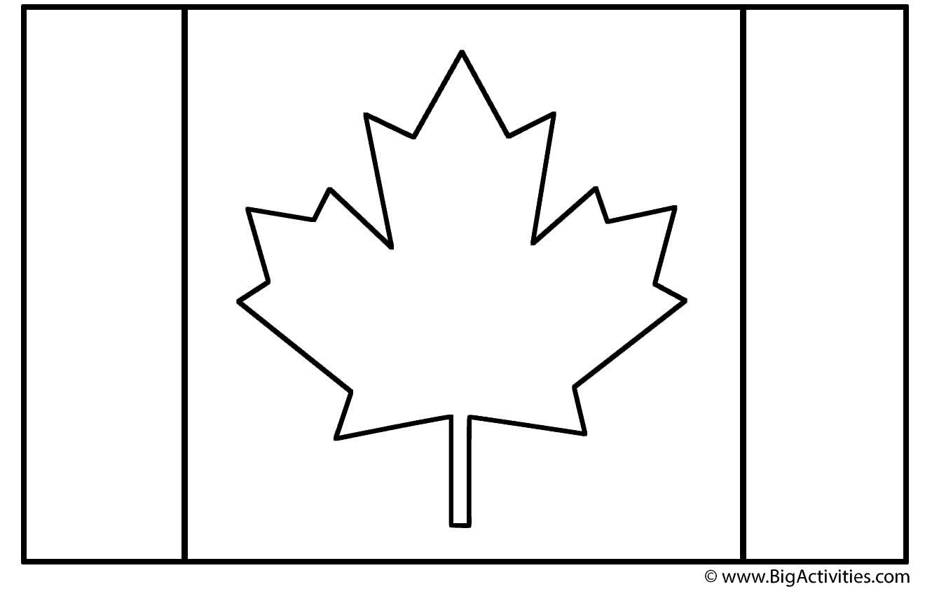 coloring canada flag free flags of the world coloring pages to print and color canada coloring flag
