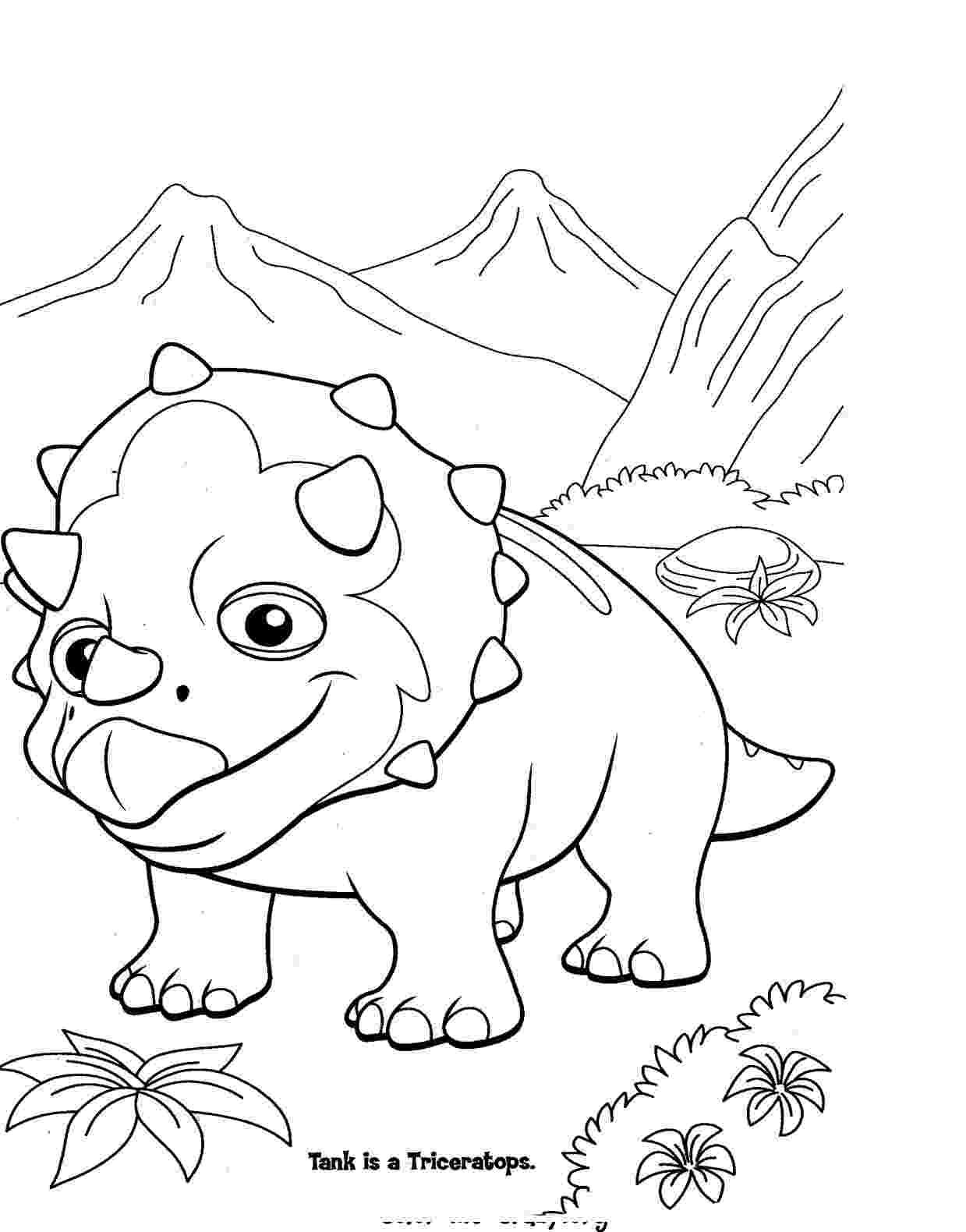 coloring dinosaur pictures cute cartoon dinosaur coloring page free printable coloring pictures dinosaur