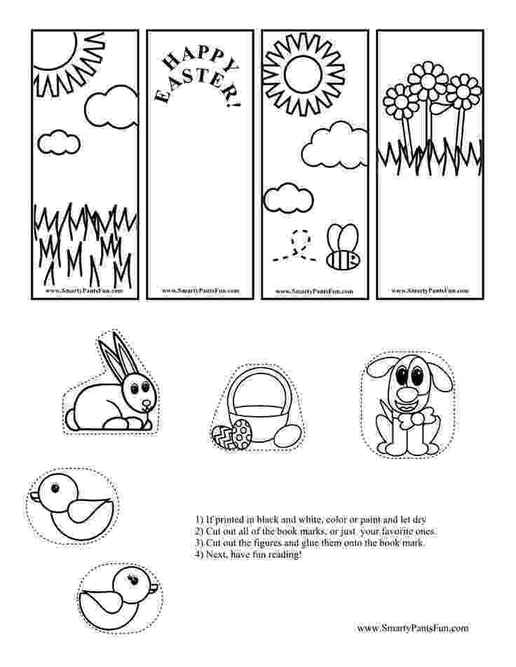 coloring easter bookmarks bookmarks to color easter by lisasmendoza teachers pay bookmarks easter coloring
