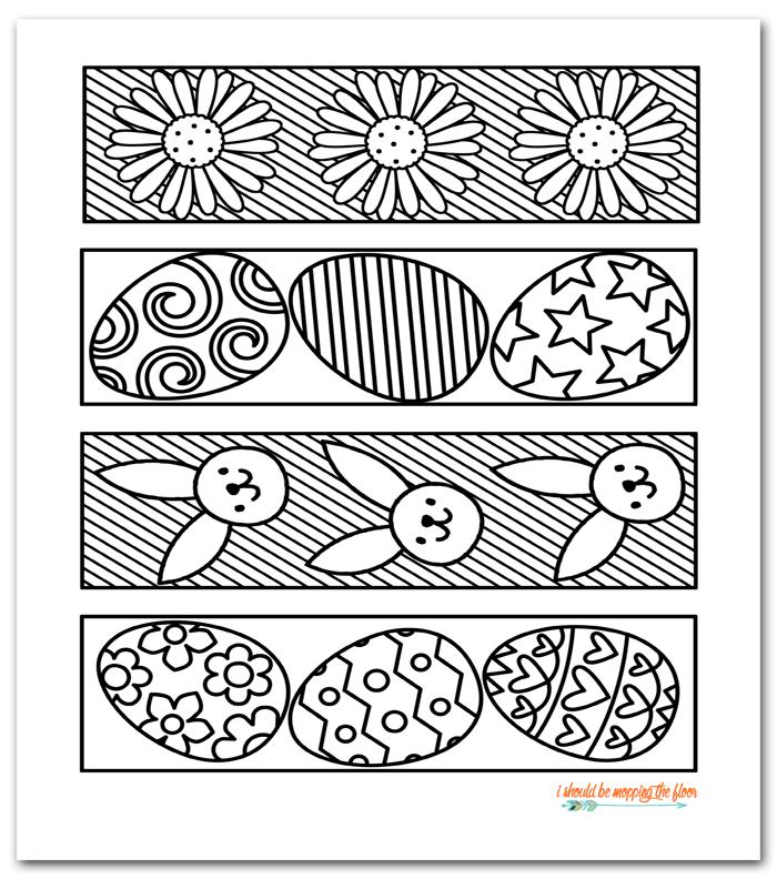 coloring easter bookmarks bookmkark bundle bookmarks coloring easter