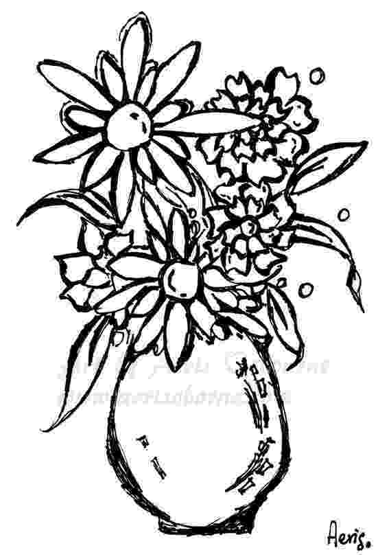 coloring flowers free printable flower coloring pages for kids best flowers coloring 1 4