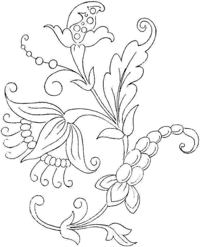coloring flowers free printable flower coloring pages for kids best flowers coloring 1 6