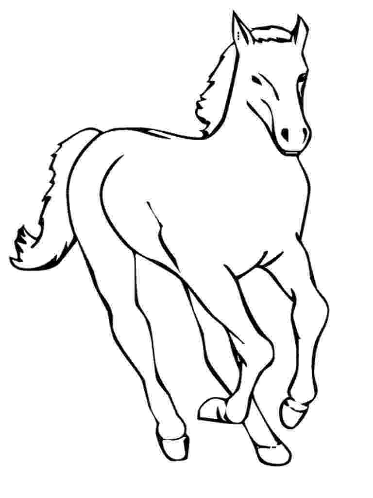 coloring horse free printable horse coloring pages for kids cool2bkids coloring horse