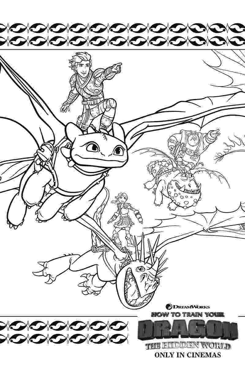 coloring how to train your dragon zippleback twin heads dragon in how to train your dragon dragon to how your coloring train