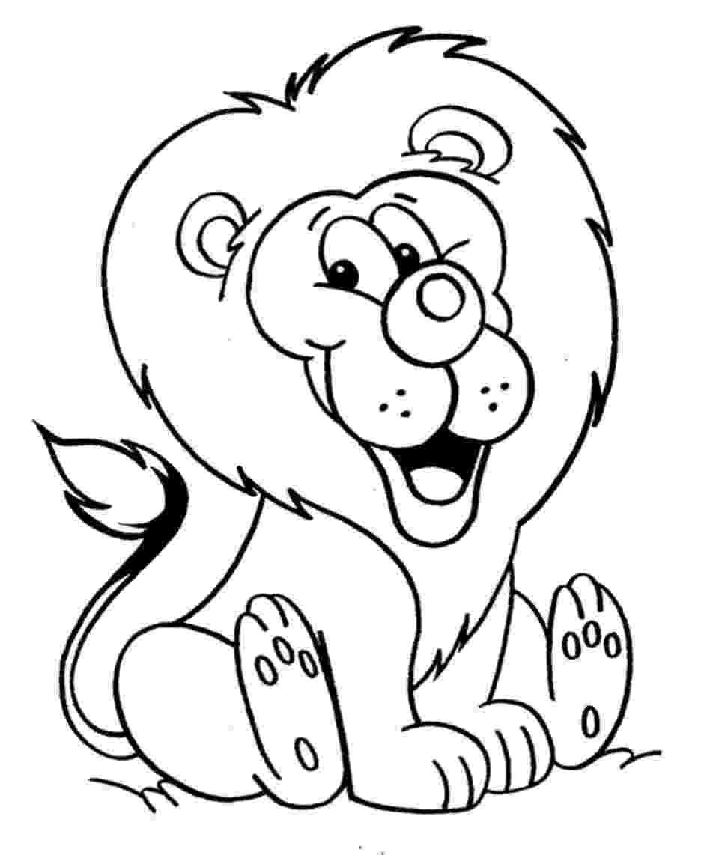 coloring lion coloring ville coloring lion