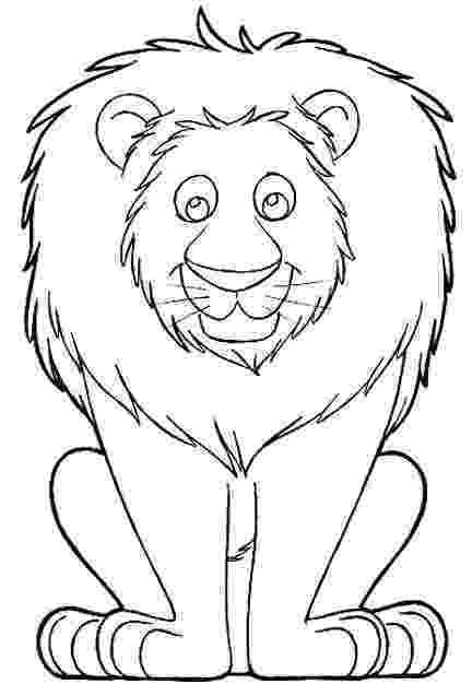 coloring lion free printable simba coloring pages for kids lion coloring 1 1