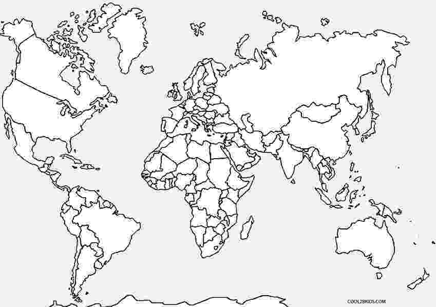 coloring map free printable world map coloring pages for kids best coloring map