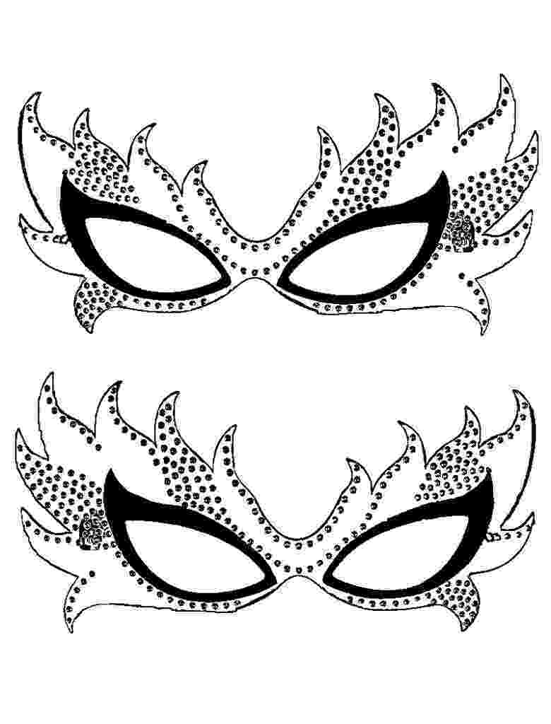 coloring masks free printable mardi gras coloring pages for kids masks coloring