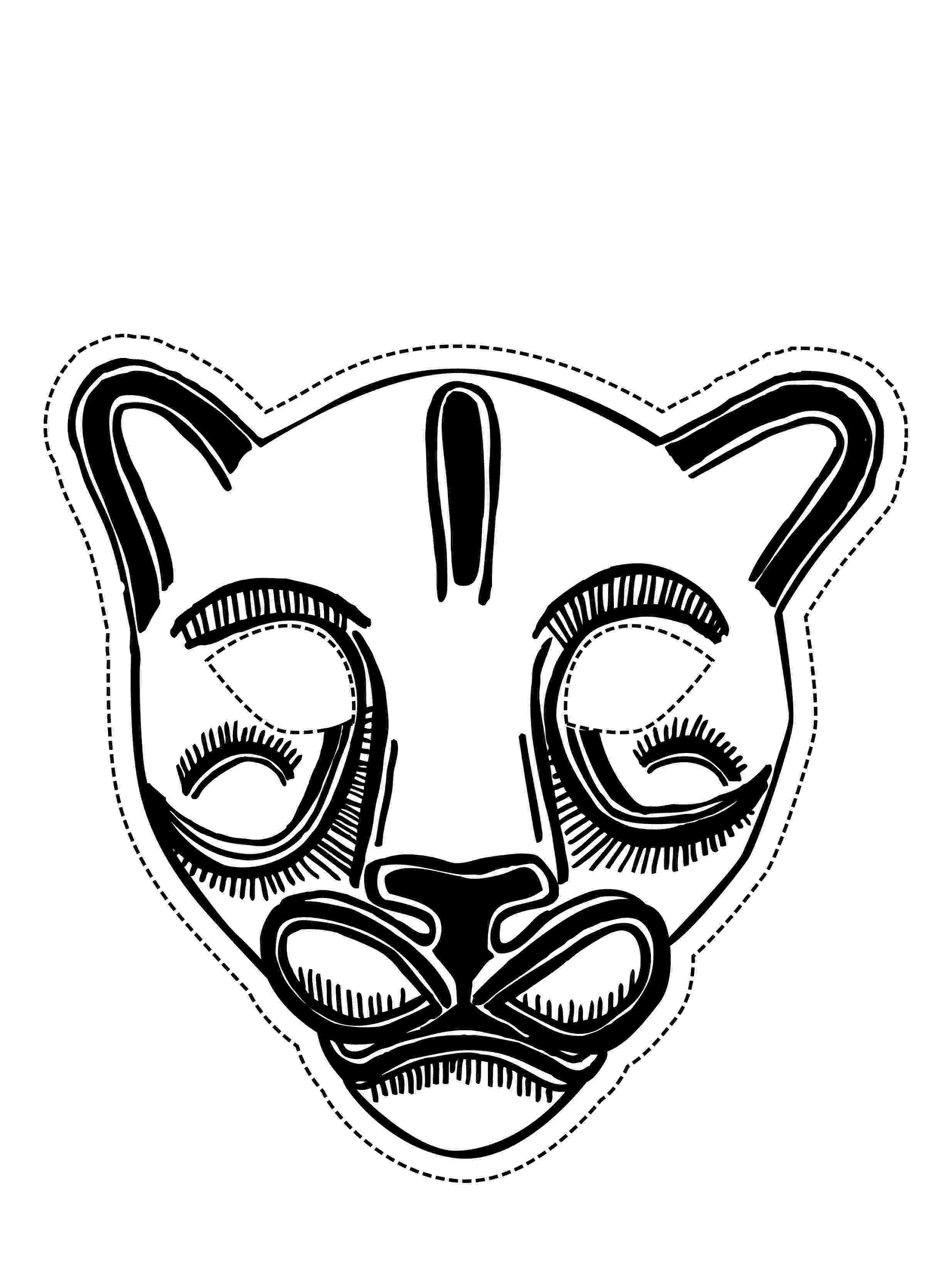 coloring masks free printable mask coloring pages for kids coloring masks 1 1