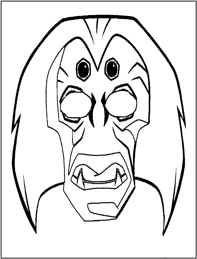 coloring masks free printable mask coloring pages for kids masks coloring