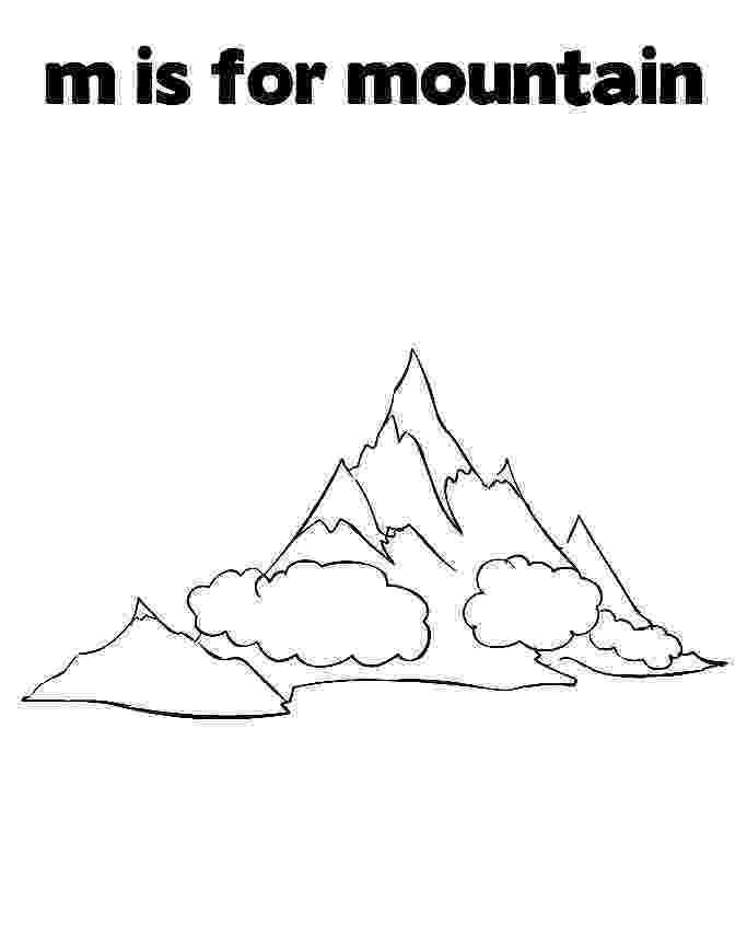 coloring mountain mountains coloring page crayolacom mountain coloring