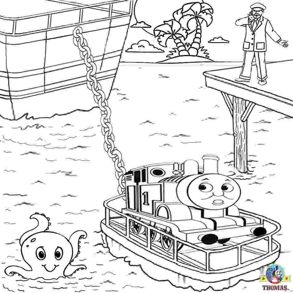 coloring online thomas thomas and friends misty island rescue coloring pages for thomas coloring online