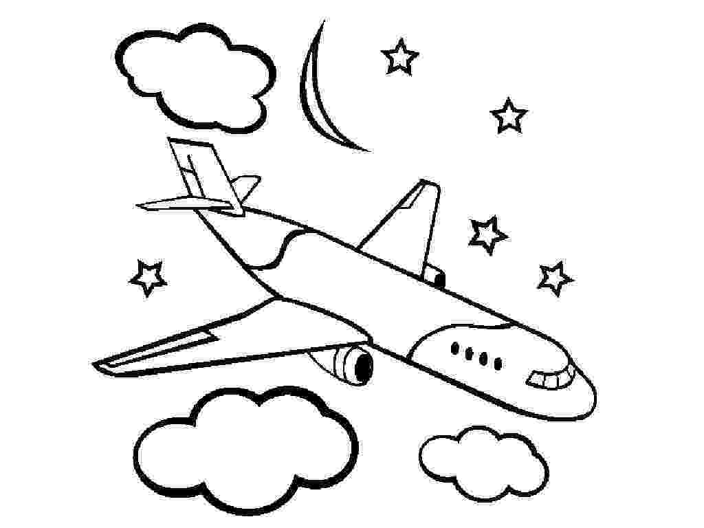 coloring page airplane free printable airplane coloring pages for kids cool2bkids coloring airplane page