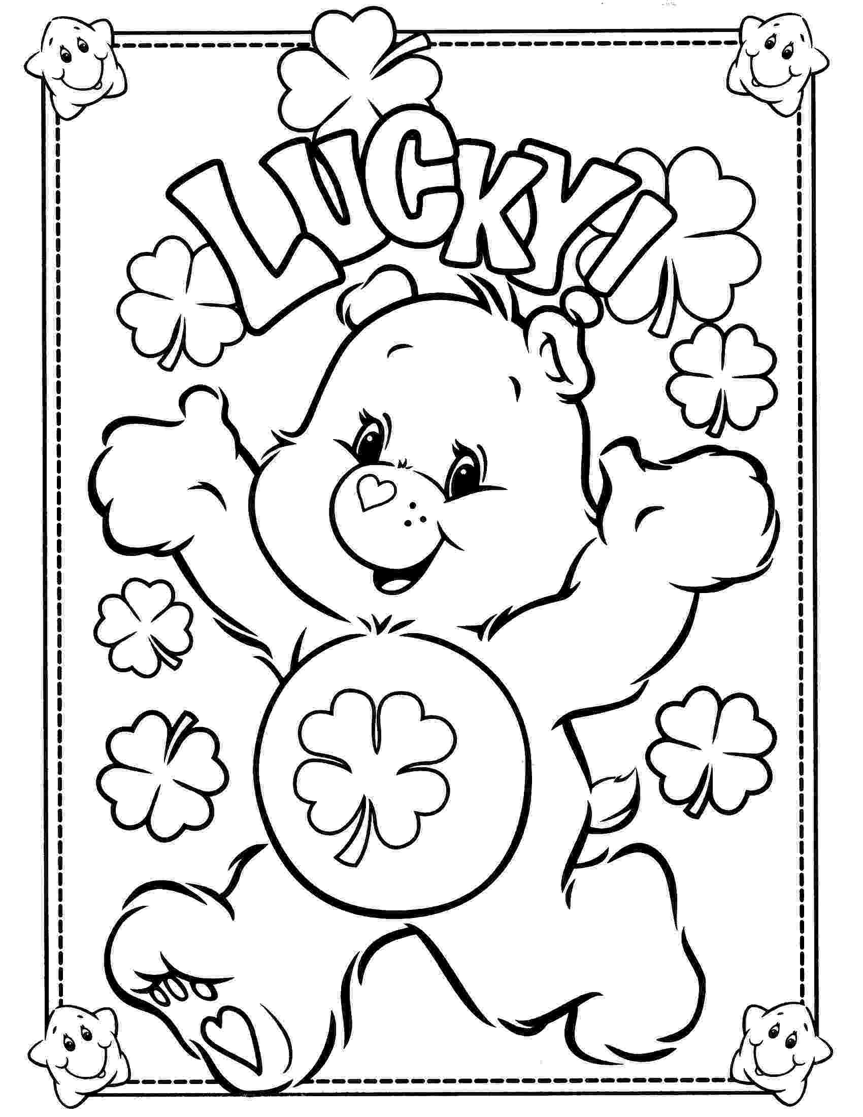 coloring page bear free printable care bear coloring pages for kids bear page coloring