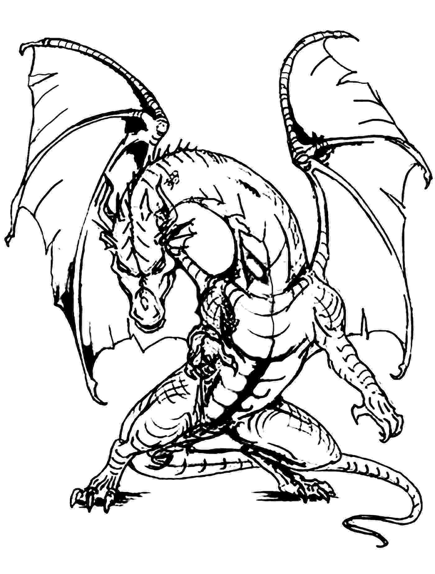 coloring page dragon cute dragon and bird coloring page free printable page coloring dragon