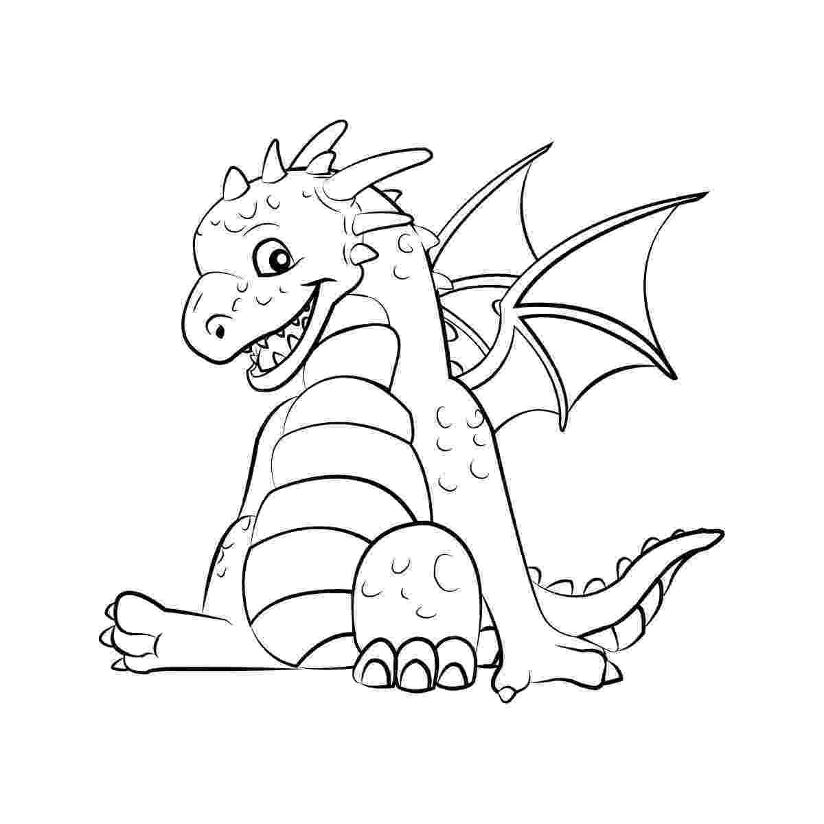 coloring page dragon dragon coloring pages getcoloringpagescom coloring page dragon