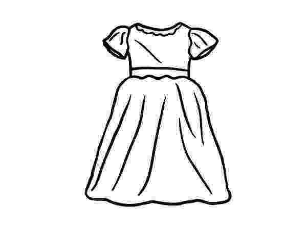 coloring page dress coloring liana39s paper dolls dress coloring page